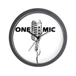 ONE MIC Wall Clock
