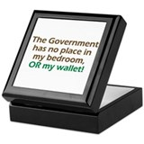 Smaller Government Keepsake Box