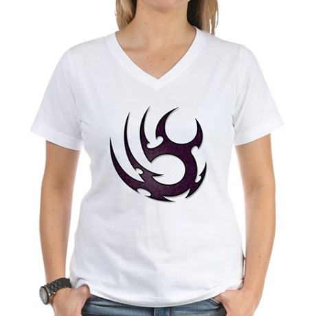 Tribal Talons Women's V-Neck T-Shirt