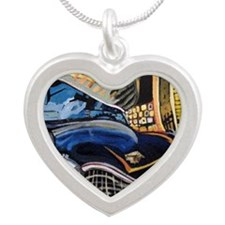 Baby Doll Silver Heart Necklace