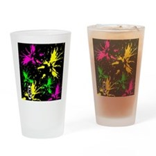 PaintSplat Drinking Glass