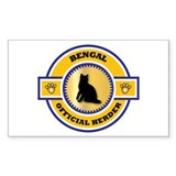 Bengal Herder Rectangle Decal