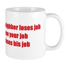 obumper sticker Mug