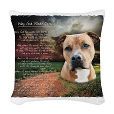 godmadedogs2 Woven Throw Pillow