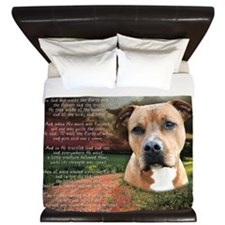 godmadedogs2 King Duvet