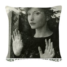 Maya Deren 10x10_apparel-tote_ Woven Throw Pillow