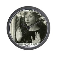 Maya Deren 10x10_apparel-tote_MD Wall Clock