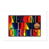 Postcards (Package of 8) - Welcome All...