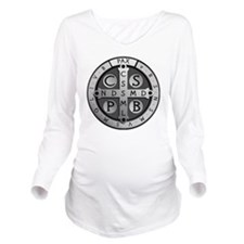 BenedictMedal_ShirtF Long Sleeve Maternity T-Shirt