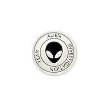 AlienInvestigationTeam1 Mini Button