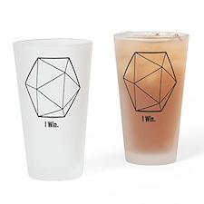 i win Drinking Glass