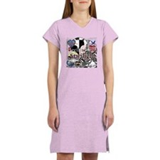 new twilight saga collage by tw Women's Nightshirt