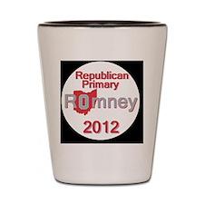 Romney OHIO Shot Glass