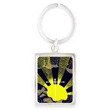 sunset-cross.copy Portrait Keychain