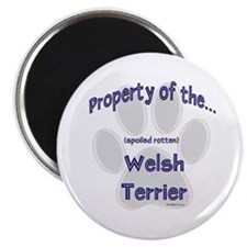 Welsh Terrier Property Magnet
