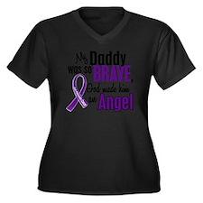 D Daddy Women's Plus Size Dark V-Neck T-Shirt