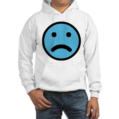 Sad Face Hooded Sweatshirt