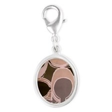 desing_05_hard_case Silver Oval Charm