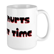 Hurts Red Light Mug
