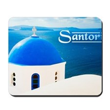 laptop_0023_greece santorini greece-2 Mousepad
