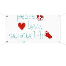 PeaceLoveAndSasquatch Banner