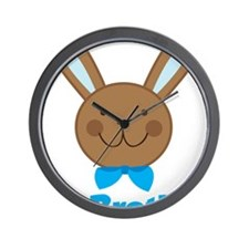 BunnyBigBrother Wall Clock