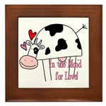 In the Moo'd Framed Tile