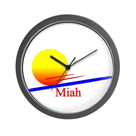 Miah Wall Clock
