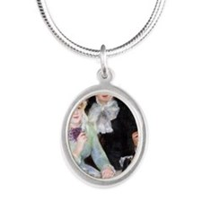 Renoir Mag42 Silver Oval Necklace
