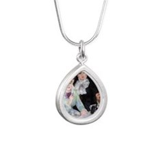 Renoir Mag42 Silver Teardrop Necklace
