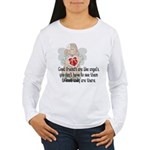 Good Friend's are like Angel' Women's Long Sleeve