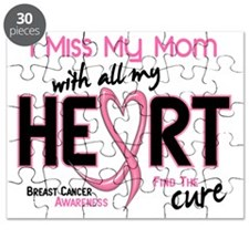 - Miss With All My Heart Mom Breast Cancer Puzzle