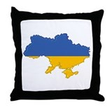 """Pixel Ukraine"" Throw Pillow"