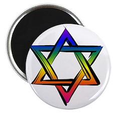Star Of David 2 Magnet