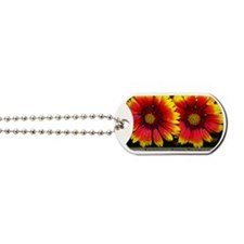 flowers05 Dog Tags