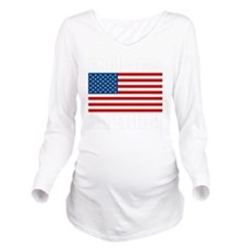 GODBLESSAMERICAdark Long Sleeve Maternity T-Shirt