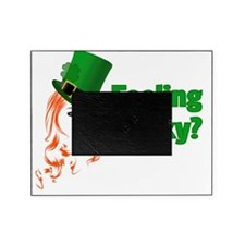 feeling lucky Picture Frame