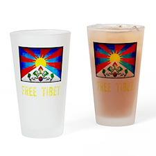 tibet30Bk Drinking Glass