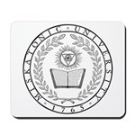 Miskatonic Seal Mousepad (White)
