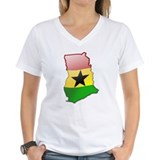 """Ghana Bubble Map"" Shirt"