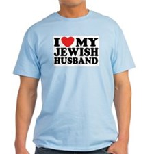 I Love My Jewish Husband T-Shirt