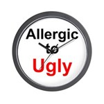 Allergic to Ugly Wall Clock