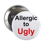 Allergic to Ugly Button
