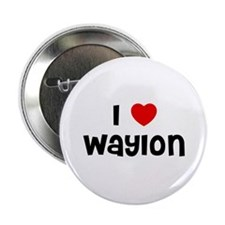 "I * Waylon 2.25"" Button (10 pack)"