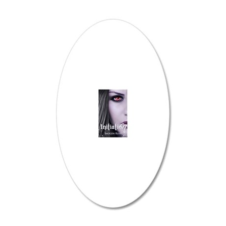 initiation final cover ebook 20x12 Oval Wall Decal