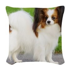 Papillon AC032D-037 Woven Throw Pillow