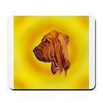 Beautiful Bloodhound Head stu Mousepad