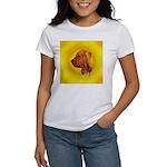 Beautiful Bloodhound Head stu Women's T-Shirt
