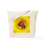 Beautiful Bloodhound Head stu Tote Bag