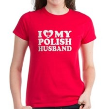 I Love My Polish Husband Tee